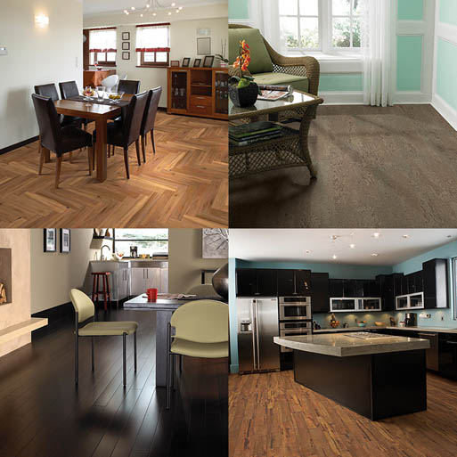 The Floor Club is commited to protecting the environment. These beautiful roomscenes show eco-friendly flooring products in modern homes.